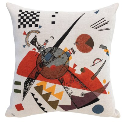 Orange 1923  Throw Pillow