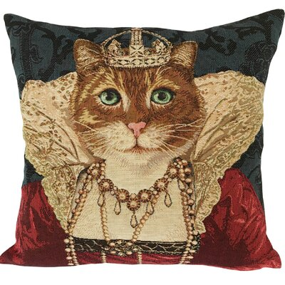 Reine de Beaute Classic Throw Pillow
