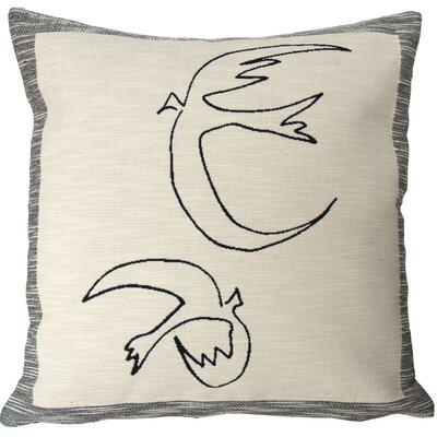 Hirondelles Throw Pillow