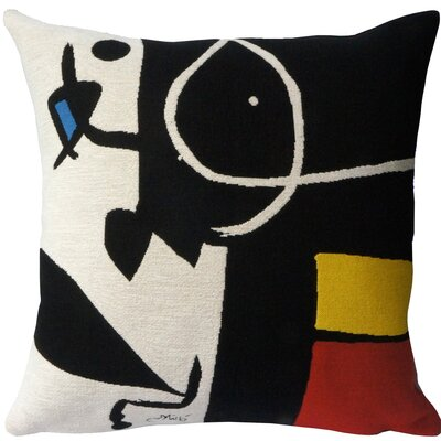 Femme, Oiseaux 1976  Throw Pillow