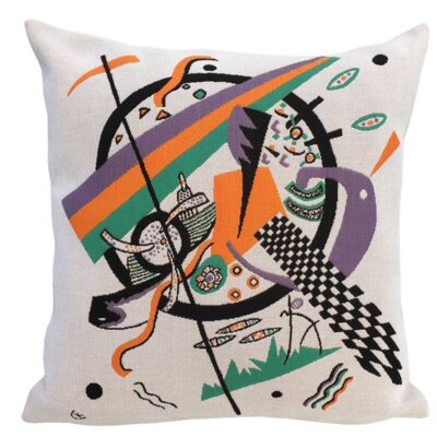Kleine Welten VI 1922  Throw Pillow
