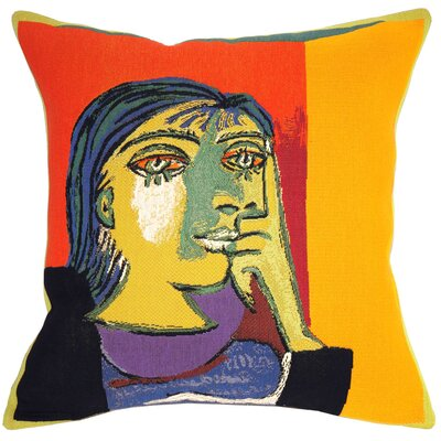 Portrait de Dora Maar 1937 Throw Pillow