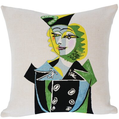 Portrait de Nusch Eluard  1937 Throw Pillow