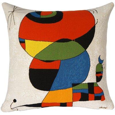 Femme Oiseau, Etoile 1978 Extrait No.1  Throw Pillow