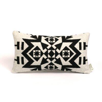 Snow Wool Lumbar Pillow Color: Cream