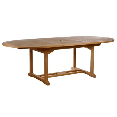 Elzas Teak Extendable Dining Table