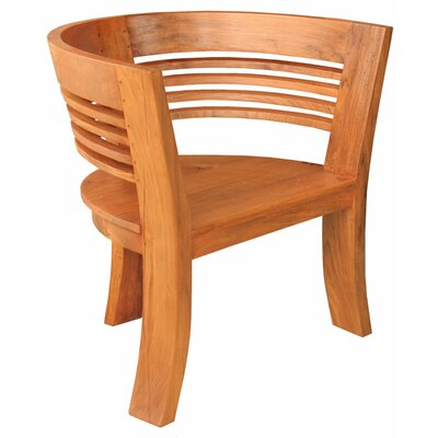Half Moon Teak Dining Arm Chair