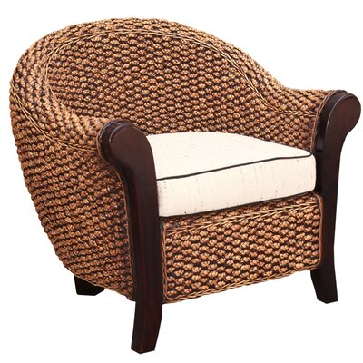 Water Hyacinth Soldano Barrel Chair