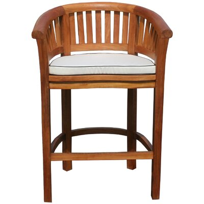 Peanut Outdoor Barstool Cushion