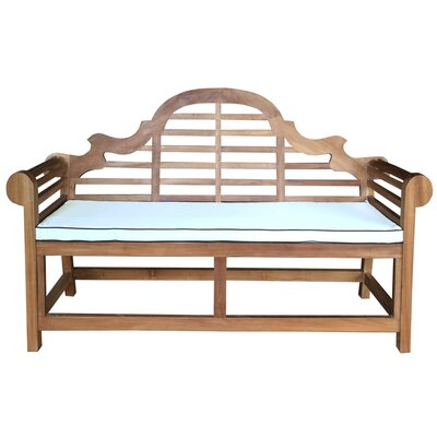 Lutyens Outdoor Bench Cushion Size: Small (Double)
