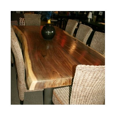Suar Dining Table Size: 30 H x 118 W x 41 D