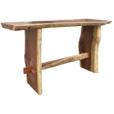 Suar Pub Table Size: 43 H x 98 W x 34 D
