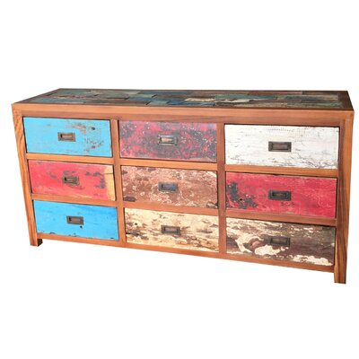 Barnes 9 Drawer Dresser