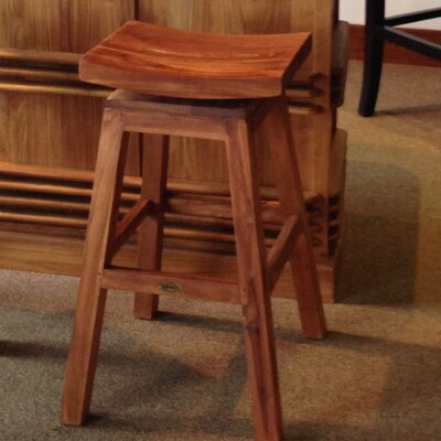 Swivel Bar Stool Finish: Mahogany