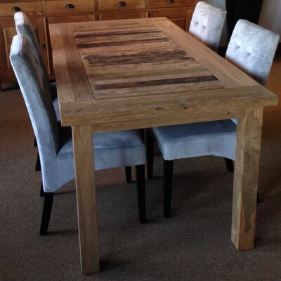 Dining Table Table Size: 79 L x 40 W