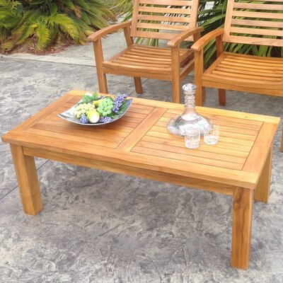 San Diego Teak Coffee Table