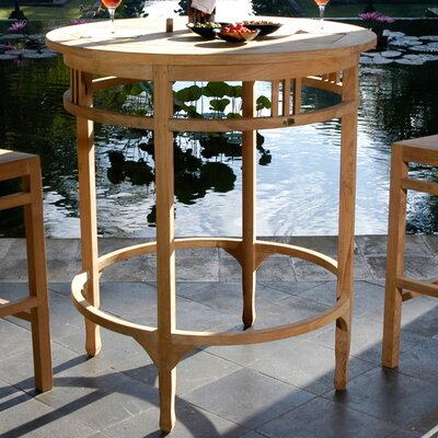 Orleans Bar Table Size: 43 H x 32 W