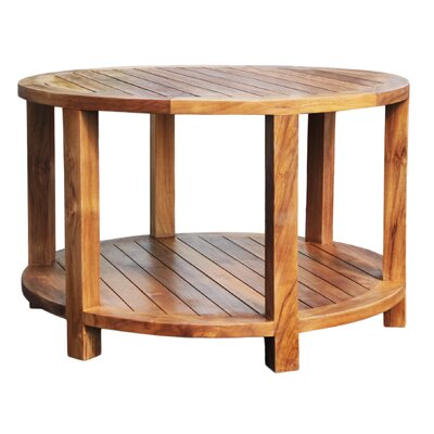 Hammond Teak Round Coffee Table