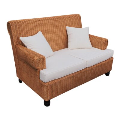 Emmalynn 4 Piece Rattan Conversation Set with Cushions