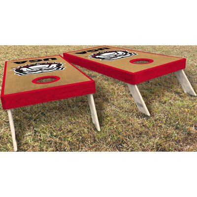 University of Georgia Classic New Dawg 10 Piece Cornhole Set University of Georgia Classic New DAWG Cornhole Board Set