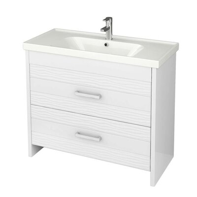Lotus 39 Single Bathroom Vanity Set