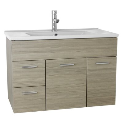 Loren 33 Single Bathroom Vanity Set Base Finish: Larch Canapa