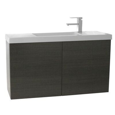 Happy Day 39 Single Bathroom Vanity Set Base Finish: Gray Oak