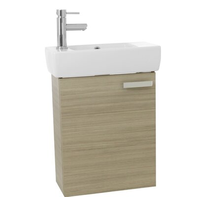 Cubical 19 Single Bathroom Vanity Set Base Finish: Larch Canapa