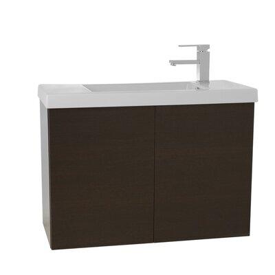 Happy Day 23.2 Single Bathroom Vanity Set Base Finish: Wenge