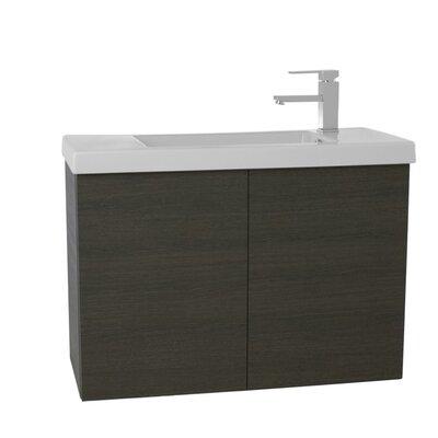 Happy Day 23.2 Single Bathroom Vanity Set Base Finish: Gray Oak