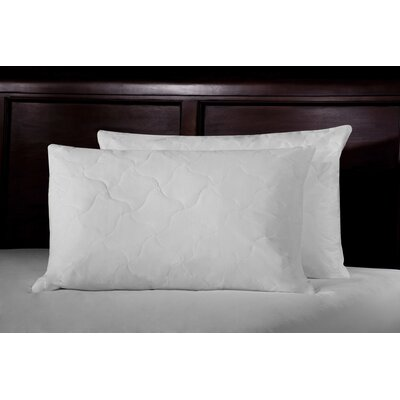 Thread Count Quilted Lumbar Feathers Jumbo Pillow