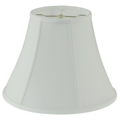 14 Fabric Bell Lamp shade Color: White