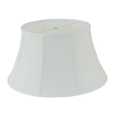 19 Fabric Bell Lamp shade Color: White