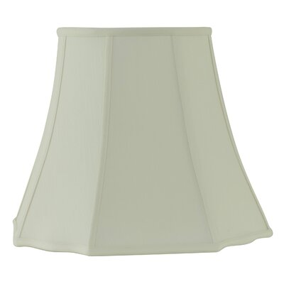 18 Fabric Bell Lamp shade Color: Creme