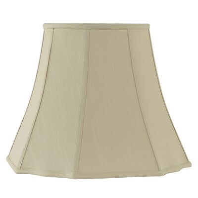 18 Fabric Bell Lamp shade Color: Taupe