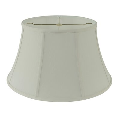 19 Fabric Bell Lamp shade Color: Creme