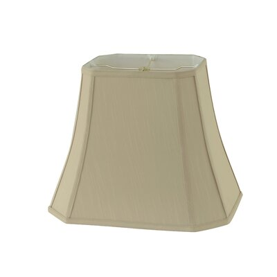 16 Fabric Bell Lamp Shade Color: Taupe