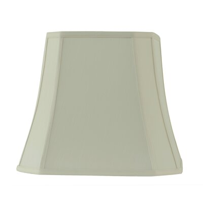 16 Fabric Bell Lamp shade Color: Creme