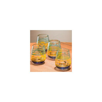 La Raya Recycled Glass Short 12 Oz. Tumbler V1010