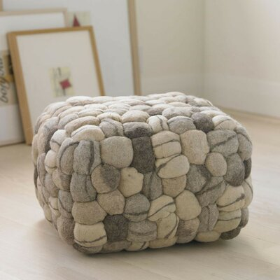 Soft Stone Pouf Ottoman