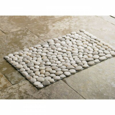 Riverstone Bath Rug Color: White