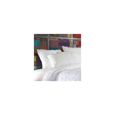 Pin-Tuck Euro Sham Color: White
