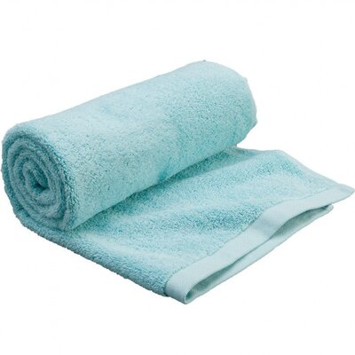 Carded Bath Towel Color: Aqua