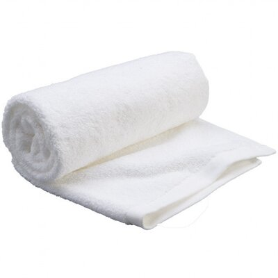 Carded Bath Sheet Color: White