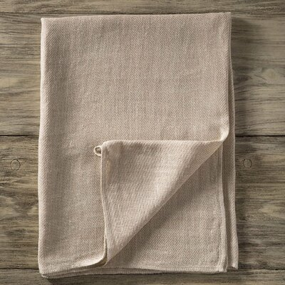 Pure Linen Hand Towel Color: Flax