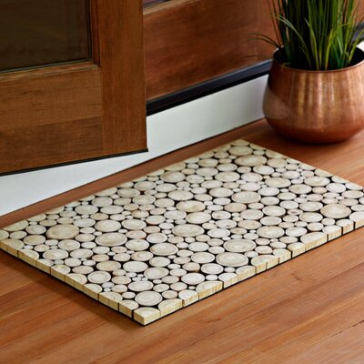 Comte Wood Slice Doormat