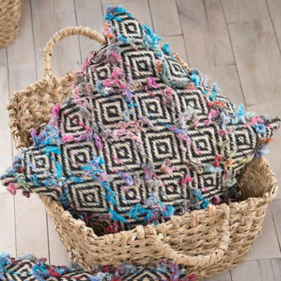South Fork Diamond Weave Square Pillow Cover