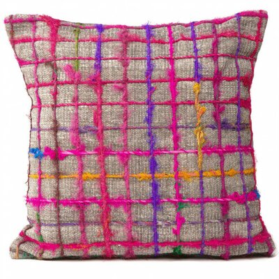 Spruce Knob Grid Shimmering Pillow Cover