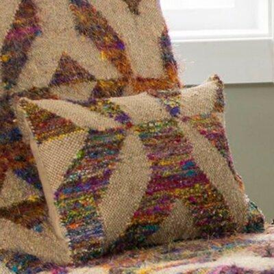 Tabernash Modern Kaleidoscopic Kilim Square Pillow Cover