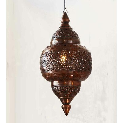 Crested Butte 1-Light Geometric Pendant Finish: Antique Copper